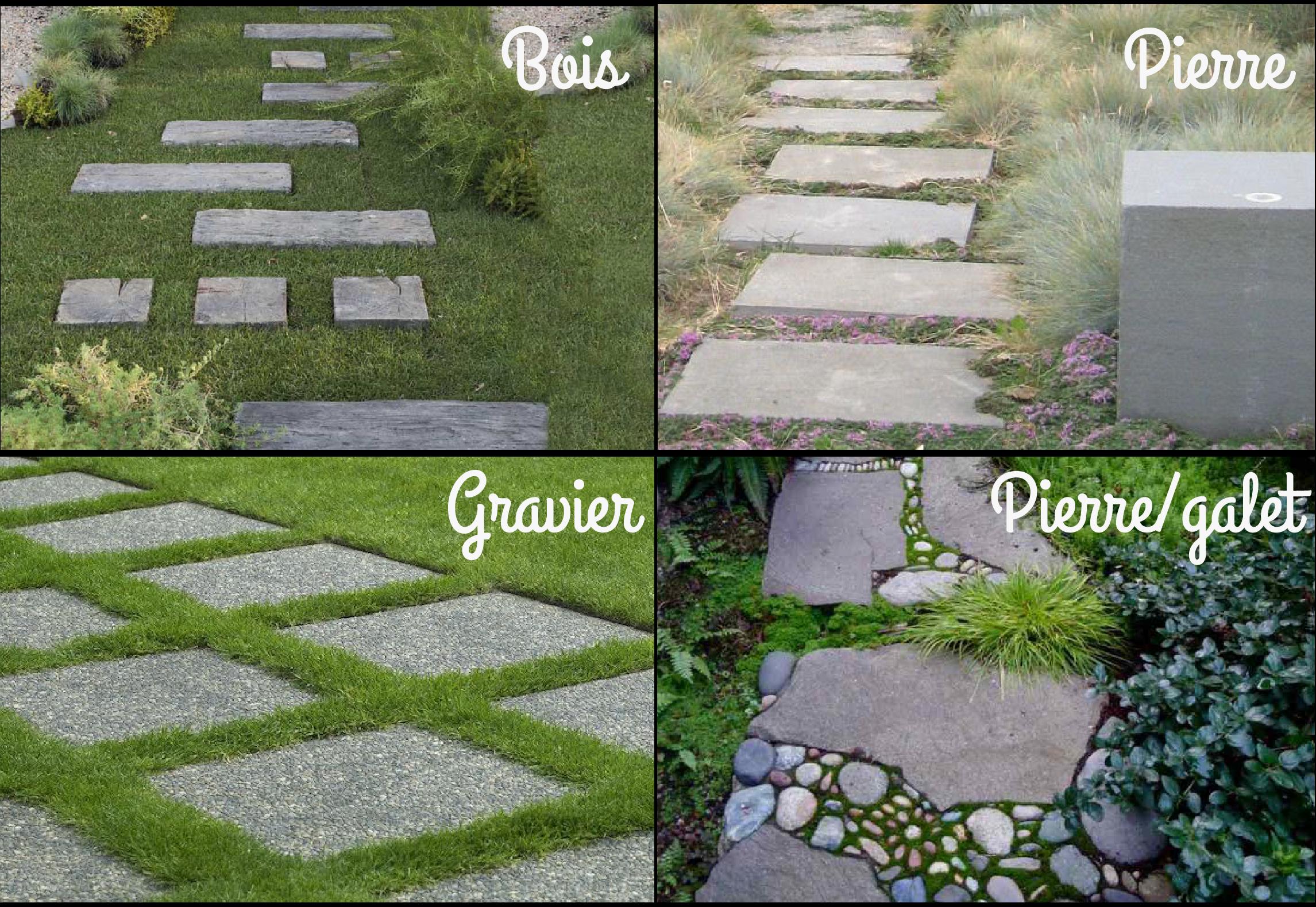 Realiser Massif Avec Galet comment créer des allées dans un jardin : perspectives et