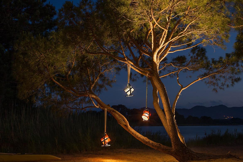 lampe LED extérieure